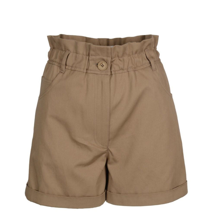 Shorts i lærred