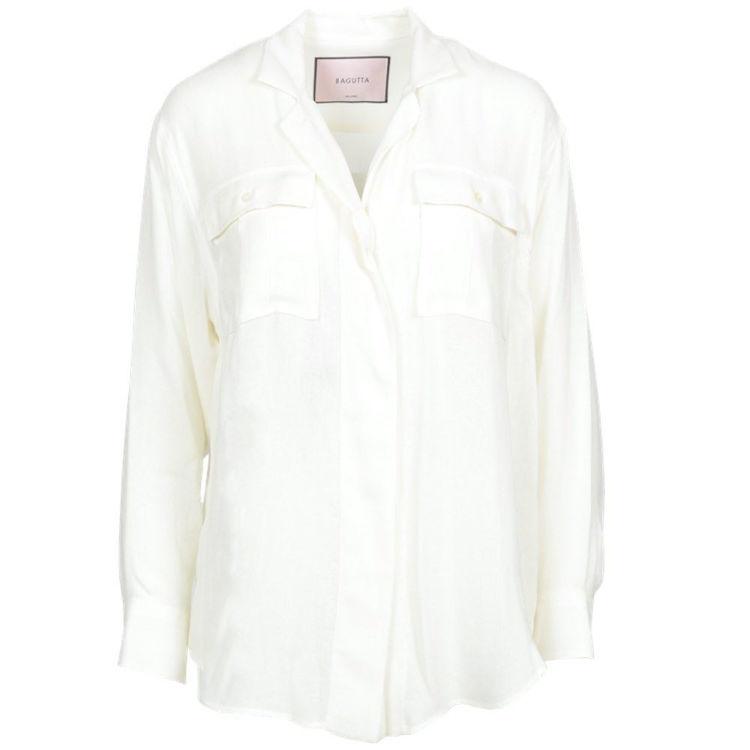 skjorte m. lommer