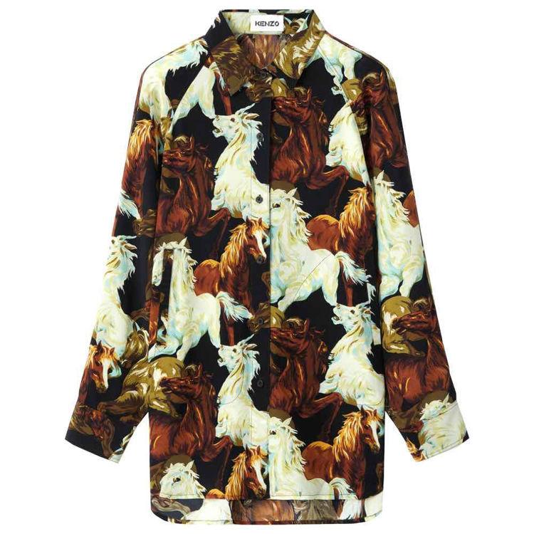 skjorte silk