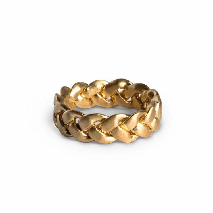 big breaided ring