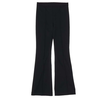 cropped flare rib legging