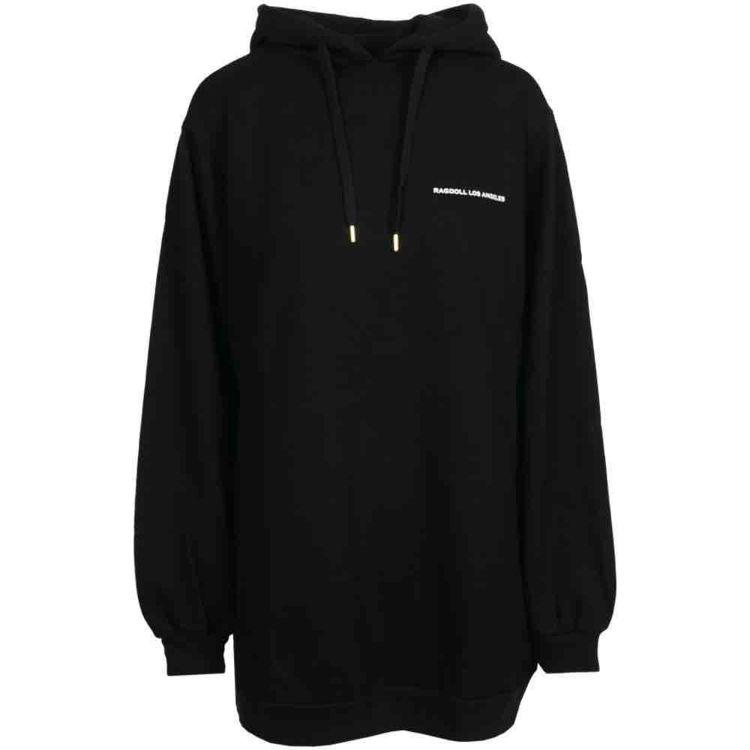 hoodie med logo