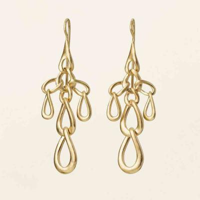 Flow link earrings