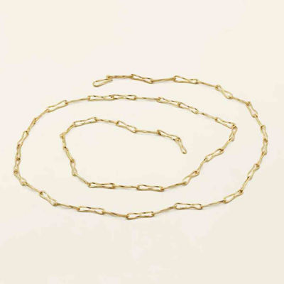 Thin flow necklace
