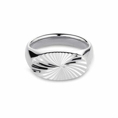 Reflection Signet ring sølv