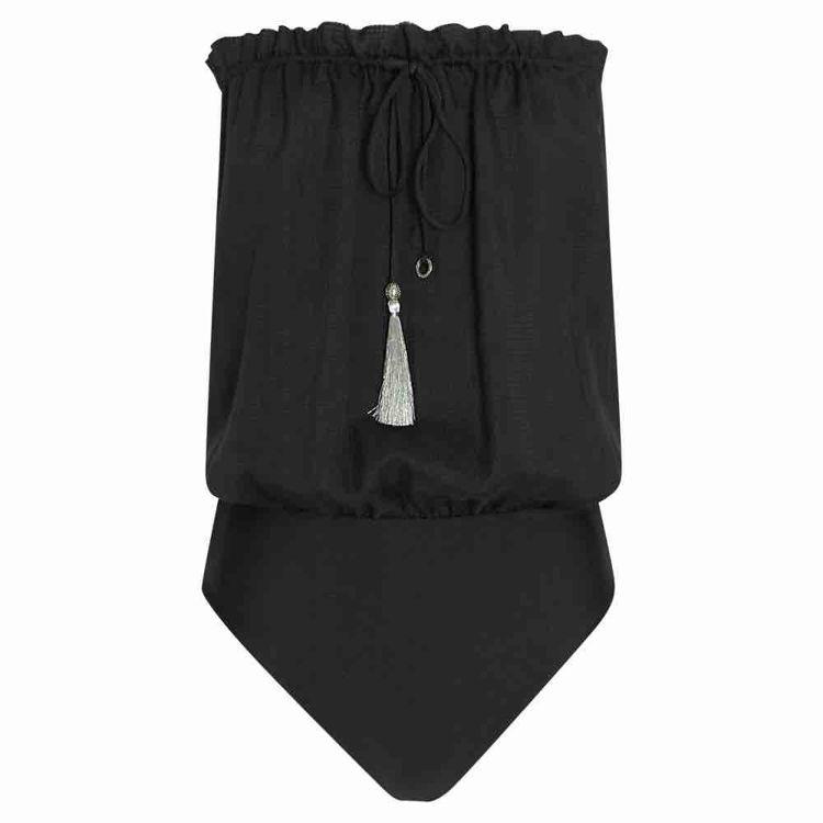 square bandeau swimsuit