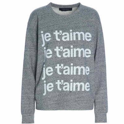 Sweatshirt je t'aime