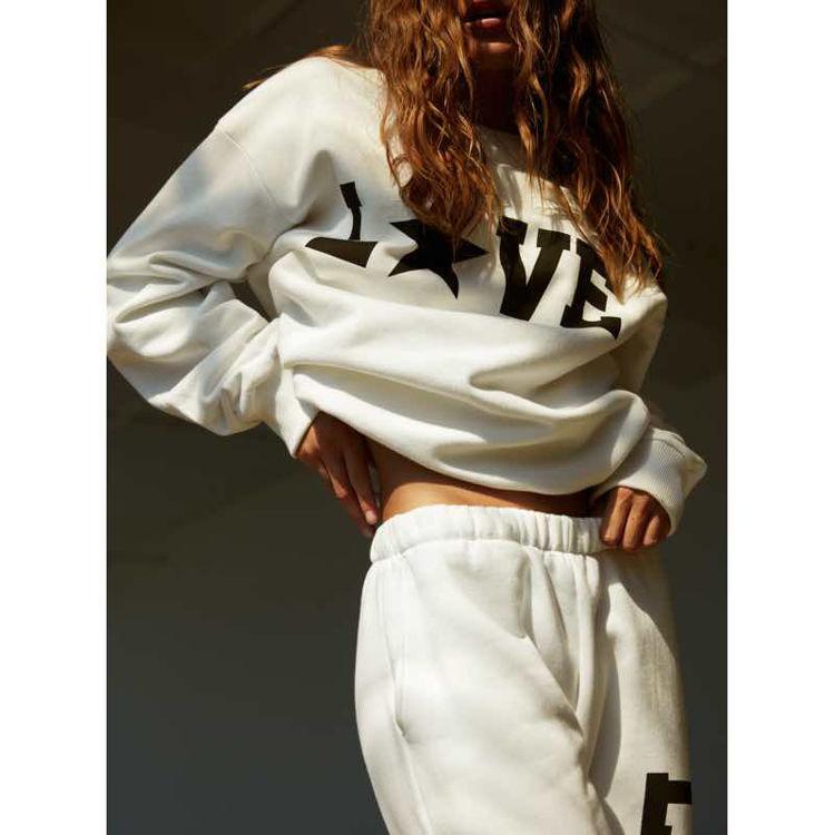 Sweatshirt m. love