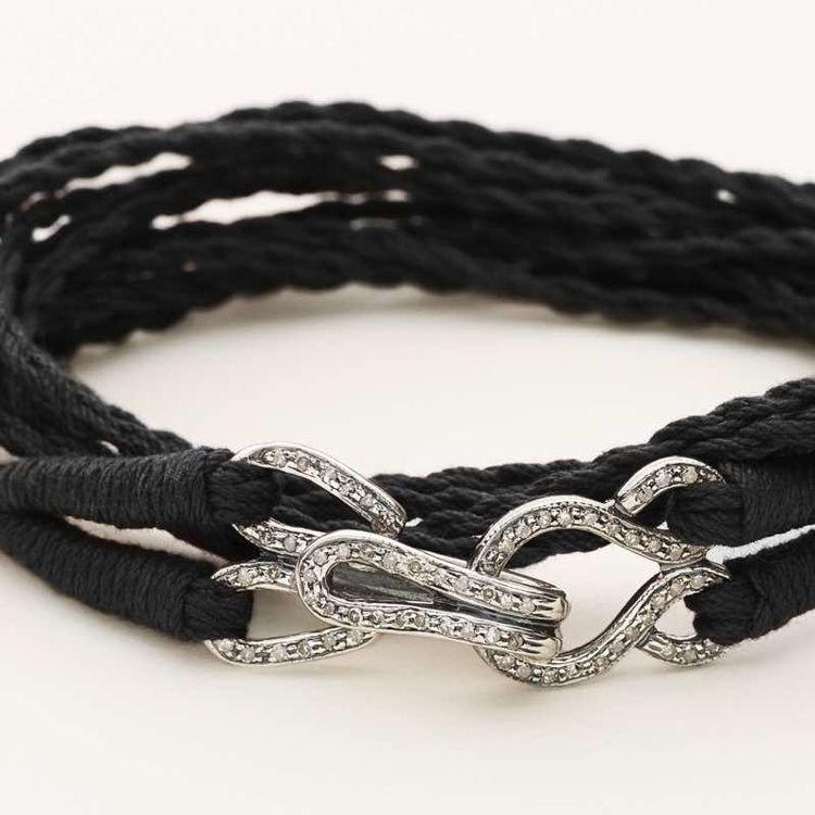 Temple bracelet silver
