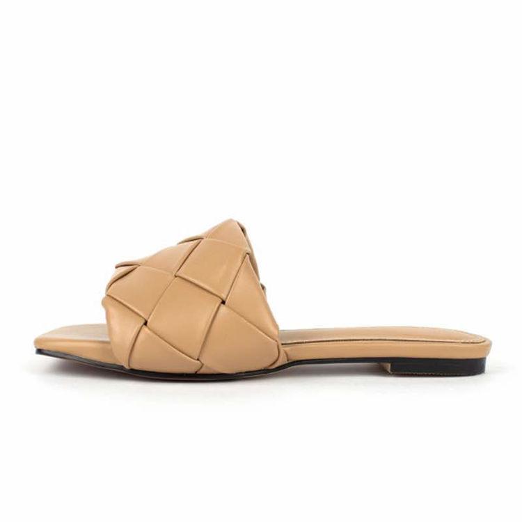 Sandal med flet