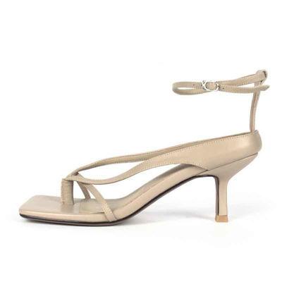 Sandal m. hæl