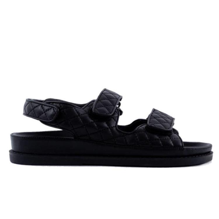 Sandal m. velcro