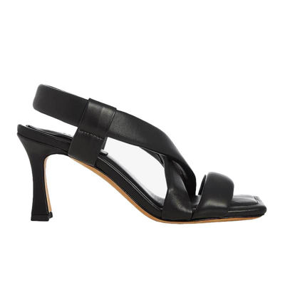 Sandal høj hæl