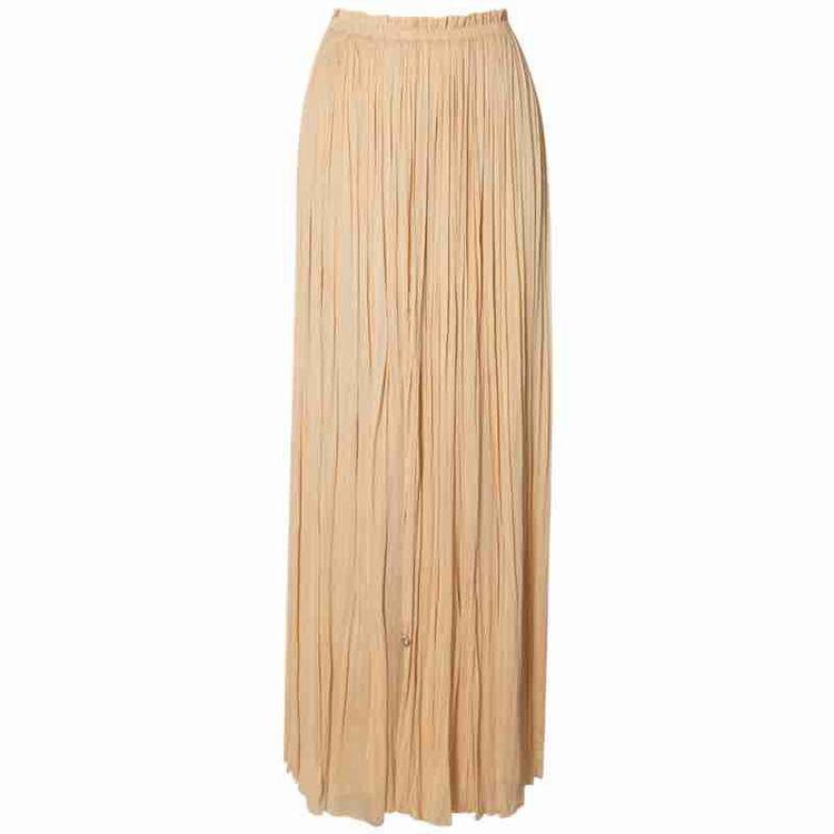 lang silke nederdel