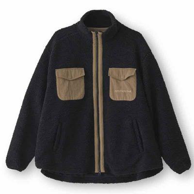 7 AM mountain pile jacket