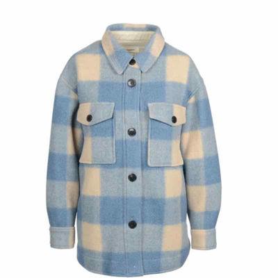 Coat tweed