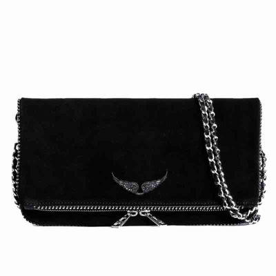 Rock suede strass pipin bag