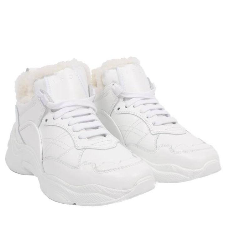 Curverrunner sneakers w fur