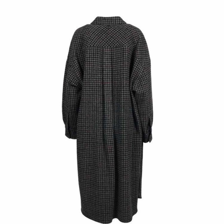 frakke lang grå tern