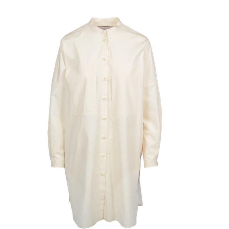 oversize skjorte kjole