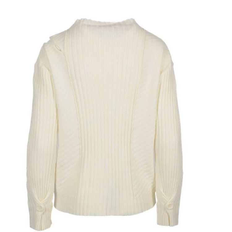 Pullover m. skulder detalje