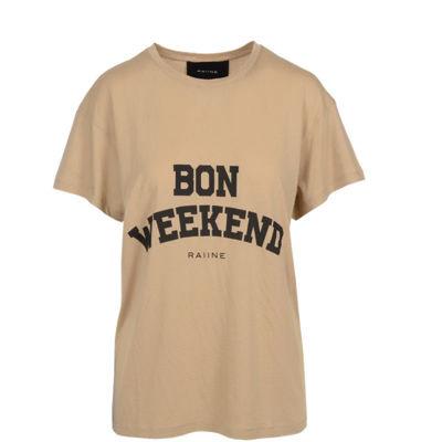 T-shirt m. Bon weekend