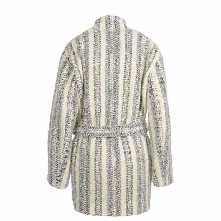 jakke med bindebånd