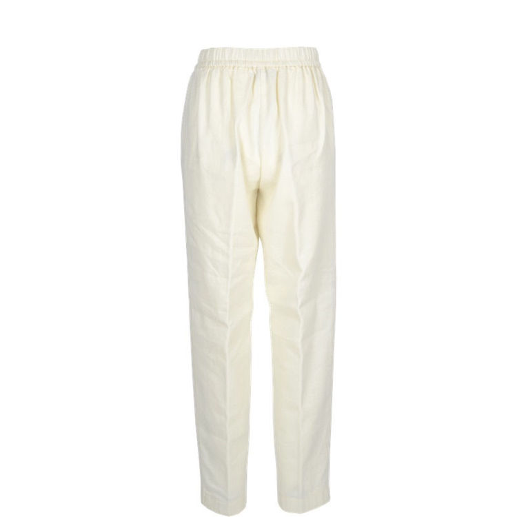 wool linen bukser