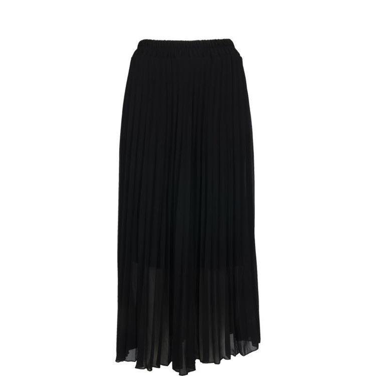 plisse nederdel